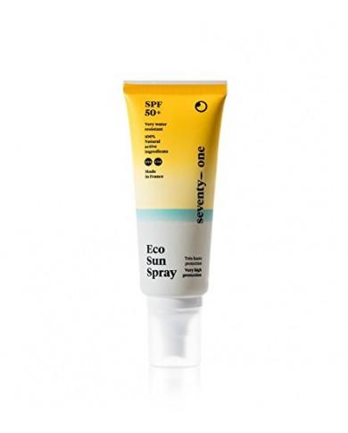 Crème solaire SeventyOne Eco Sun Spray SPF 50+